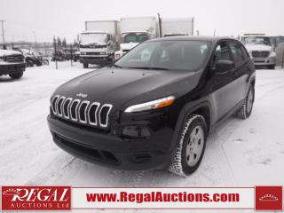 Used 2017 Jeep Cherokee Sport 4D Utility 4WD 2.4L for sale in Calgary, AB