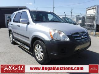 Used 2005 Honda CR-V 4D Utility 4WD for sale in Calgary, AB