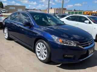 Used 2014 Honda Accord Touring.Navi.Reverse/Blind Spot Camera.Lane Assist for sale in Kitchener, ON