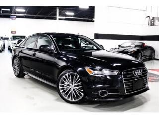 Used 2016 Audi A6 3.0T Technik    LOCAL CAR   CLEAN CARFAX for sale in Vaughan, ON