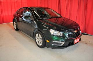 Used 2015 Chevrolet Cruze LT Turbo   One Owner for sale in Listowel, ON