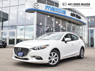Used 2017 Mazda MAZDA3 GX|1.9% FINANCE AVAILABLE|NO ACCIDENT|NAVI READY for sale in Mississauga, ON