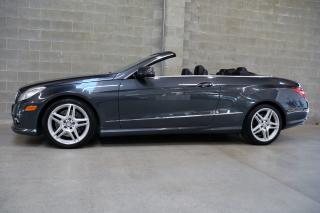 Used 2011 Mercedes-Benz E-Class E550 Cabriolet for sale in Vancouver, BC