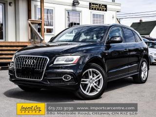 Used 2017 Audi Q5 3.0T Progressiv SLINE PKG NAV PAN.ROOF WOW!! for sale in Ottawa, ON