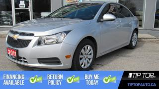 Used 2011 Chevrolet Cruze LT Turbo ** Low Km, Clean CarFax, Remote Start ** for sale in Bowmanville, ON