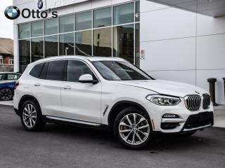 Used 2019 BMW X3 xDrive30i Camera Navigation, Panoramic Sunroof for sale in Ottawa, ON