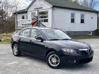Used 2007 Mazda MAZDA3 No-Accidents 5-Speed Manual Power Group A/C for sale in Sutton, ON