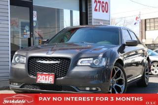 Used 2016 Chrysler 300 300S NAVIGATION BACK UP CAMERA LEATHER PANORAMIC SUNROOF for sale in Toronto, ON
