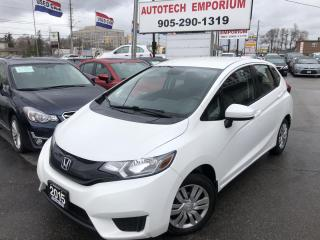 Used 2015 Honda Fit Pearl White LX Auto Camera/Htd Seats/Bluetooth &GPS* for sale in Mississauga, ON