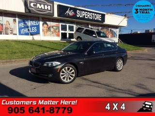Used 2012 BMW 5 Series 528i xDrive  AWD NAV ROOF LEATH P/SEATS HS for sale in St. Catharines, ON