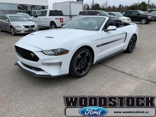 New 2019 Ford Mustang GT Premium Convertible  - Navigation for sale in Woodstock, ON