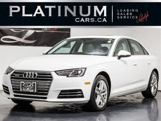 Used 2017 Audi A4 2.0T Quattro KOMFORT, CAMERA, Heated LTHR, Sunroof for sale in Toronto, ON
