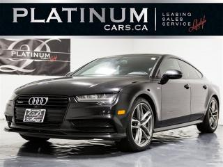 Used 2016 Audi A7 3.0 TDI Quattro Technik S-LINE, NAVI, CAM for sale in Toronto, ON