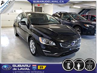 Used 2015 Volvo S60 T5 Berline ** Sonar de recul ** for sale in Laval, QC