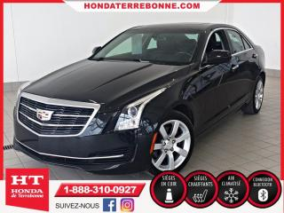 Used 2015 Cadillac ATS 2.0l Turbo, Traction for sale in Terrebonne, QC