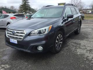 Used 2015 Subaru Outback LIMITED*GPS-Int.CUIR! for sale in Québec, QC