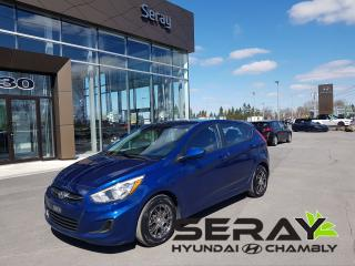 Used 2015 Hyundai Accent Gl, Mags, A/c for sale in Chambly, QC
