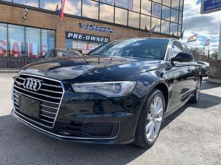 Used 2016 Audi A6 2.0T Progressiv/ Navigation/ Sunroof for sale in North York, ON
