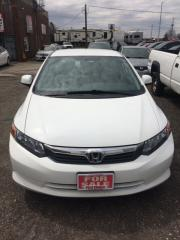 Used 2012 Honda Civic Sdn LX for sale in Kitchener, ON