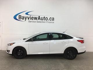 Used 2016 Ford Focus SE - AUTO! ONLY 13,700KMS! PWR GROUP! BLK ALLOYS! for sale in Belleville, ON