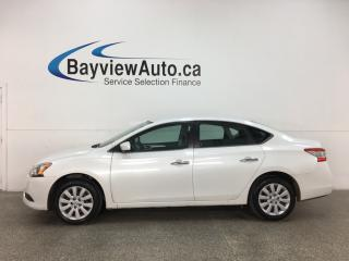 Used 2015 Nissan Sentra 1.8 S - AUTO! A/C! FULL PWR GROUP! BLUETOOTH! + MORE! for sale in Belleville, ON