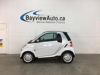 Used 2015 Smart fortwo Pure - 14,000KMS! HTD LEATHER! NAV! BLUETOOTH! for sale in Belleville, ON