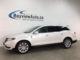 Used 2018 Lincoln MKT Elite - ECOBOOST! AWD! HTD LEATHER! NAV! 3 ZONE CLIMATE! PLUS MORE! for sale in Belleville, ON