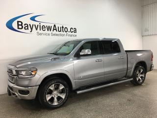 Used 2019 RAM 1500 Laramie - 3000KMS! 4X4! 8SPD AUTO! HEMI! HTD/COOLED SEATS LTHR! +MORE! for sale in Belleville, ON