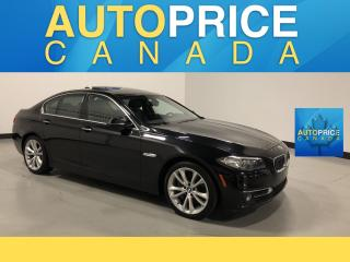 Used 2015 BMW 535 I xDrive MOONROOF NAVIGATION LEATHER for sale in Mississauga, ON