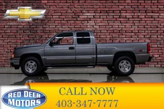Used 2007 Chevrolet Silverado 1500 4x4 Ext Cab LS Z71 for sale in Red Deer, AB