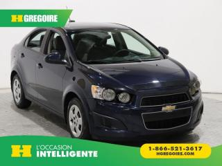 Used 2016 Chevrolet Sonic LS A/C BLUETOOTH for sale in St-Léonard, QC