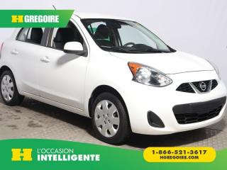 Used 2015 Nissan Micra Sv A/c Bluetooth for sale in St-Léonard, QC