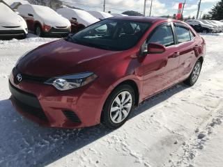 Used 2014 Toyota Corolla LE berline 4 portes CVT for sale in Val-David, QC