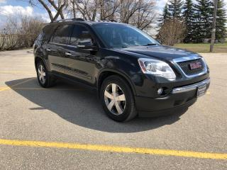 Used 2010 GMC Acadia SLT Full Loaded! New Tires! 7 Seats! Leather! for sale in Winnipeg, MB