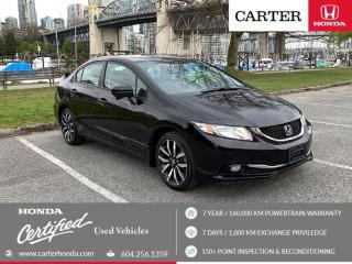 Used 2015 Honda Civic Touring for sale in Vancouver, BC