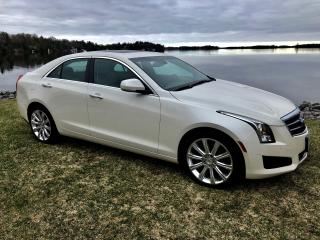 Used 2014 Cadillac ATS Premium AWD ONLY 68500 km for sale in Perth, ON