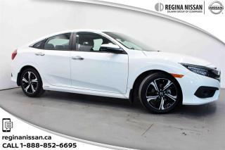 Used 2016 Honda Civic Sedan Touring CVT only 9200kms!!! Like Brand New!!! for sale in Regina, SK