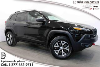 Used 2018 Jeep Cherokee 4x4 Trailhawk PANO SUNROOF - LEATHER for sale in Regina, SK