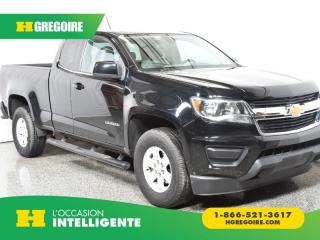 Used 2017 Chevrolet Colorado 2WD WT for sale in St-Léonard, QC