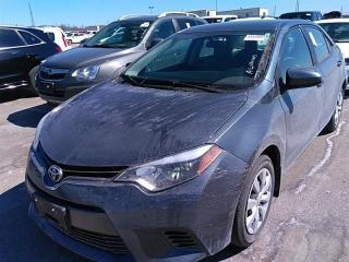 Used 2015 Toyota Corolla LE Back-Up Camera for sale in Waterloo, ON