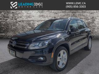 Used 2015 Volkswagen Tiguan Comfortline Leather, Panoramic Sunroof, Heated Seats for sale in Woodbridge, ON