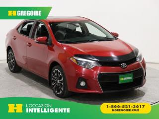 Used 2016 Toyota Corolla S A/c Gr élect for sale in St-Léonard, QC