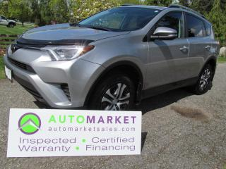 Used 2017 Toyota RAV4 LE AWD INSP, BCAA MBSHP WARR FINANCE for sale in Surrey, BC