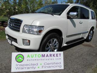 Used 2008 Infiniti QX56 AWD LOAD, INSP, BCAA MBSHP, WARR, FINANCE, WARR for sale in Surrey, BC