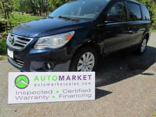 Used 2012 Volkswagen Routan TOWN & COUNTRY, INSP, BCAA MBSHP, WARR FINANCE for sale in Surrey, BC