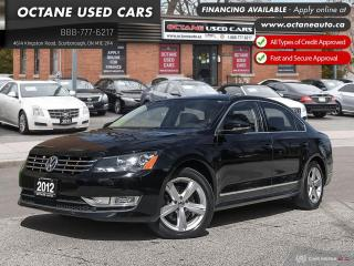 Used 2012 Volkswagen Passat 2.0 TDI Comfortline Leather! B.up Camera! Navi! for sale in Scarborough, ON
