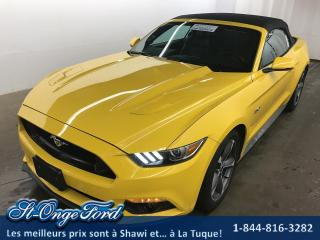 Used 2016 Ford Mustang GT PREMIUM CONVERTIBLE for sale in Shawinigan, QC