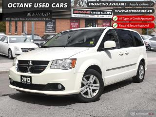 Used 2013 Dodge Grand Caravan Crew Accident Free Van! Leather! for sale in Scarborough, ON