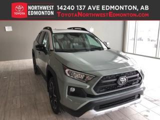 New 2019 Toyota RAV4 AWD Trail for sale in Edmonton, AB