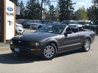 Used 2007 Ford Mustang Leather, Heated Seats, Convertible for sale in Duncan, BC